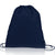 Polyester Large Size Drawstring Backpack navy