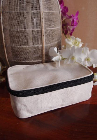 Canvas Zippered Bag - TM695