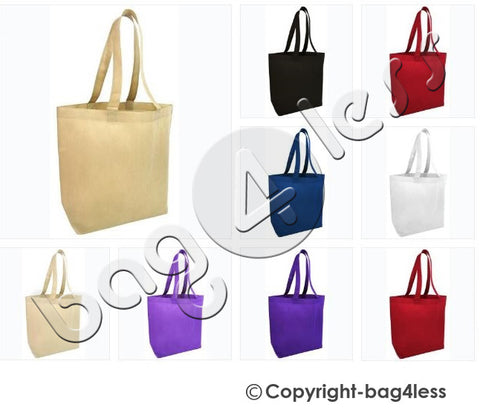 Non-Woven Large Tote Bag W/ Bottom Gusset NTB25