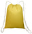 Cotton Drawstring Backpack Yellow