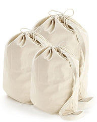 Heavy Canvas Laundry Bag Small - Medium - Large LBS LBM LBL