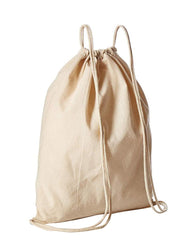 Organic Cotton Drawstring Backpack - OR18