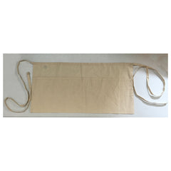 Economical Waist Apron Natural