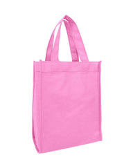 "8"" Non-Woven Small Tote Bag W/ Full Gusset - GN18"