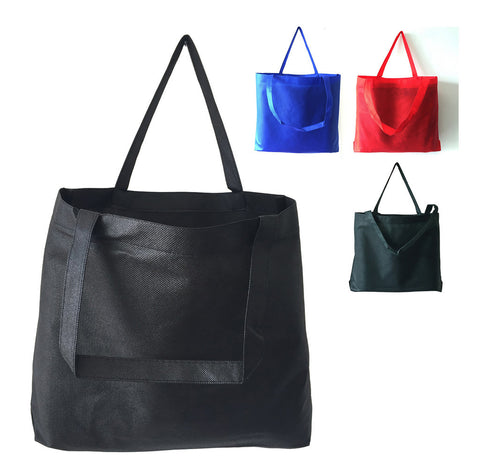 Zippered Large Tote Bag W/ Bottom Gusset NTB26