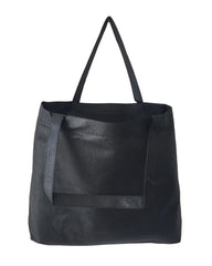 Zippered Large Tote Bag W/ Bottom Gusset - GN26
