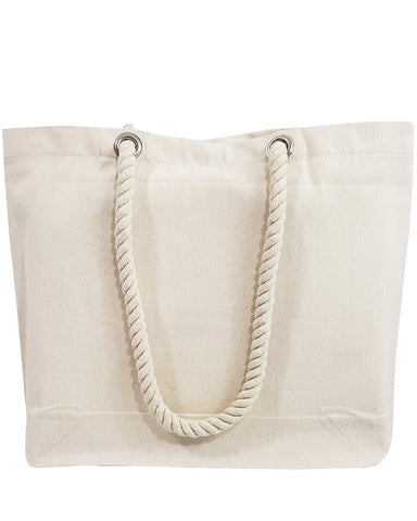 Rope Handle Canvas Bags - RP200