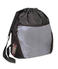 Large Drawstring Bag Multi-Pocket - POL28