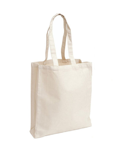 Heavy Canvas Gusset Book Bag TF220