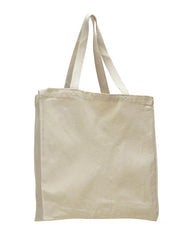 Canvas Shopper Bag W/ Full Gusset - TF230