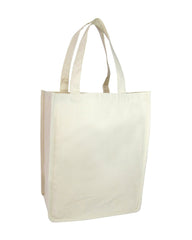 12 oz Cotton Canvas Jumbo Tote Bag - TF254