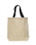 Heavy Canvas Tote Bag W/ Bottom Gusset Color Handles TG244