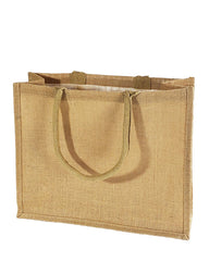 Large Burlap Shopping Bags - TJ889