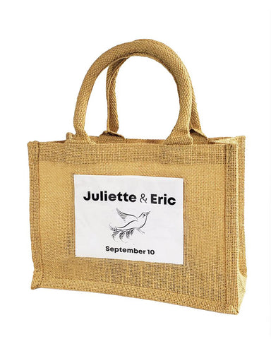 Wedding Favor Burlap Bags - TJ907