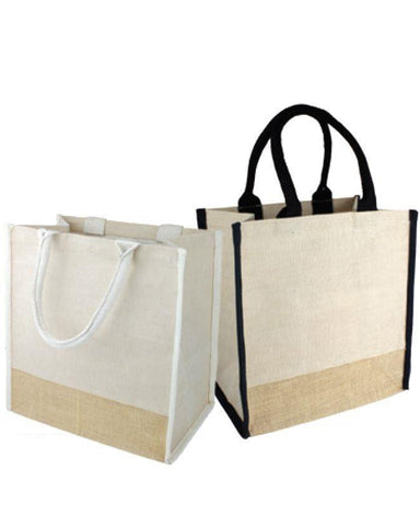 Jute Tote Bags with Full Gusset - TJ912