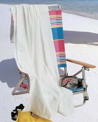 "30"" x 60"" Large Terry Velour Beach Towel (6 Pack) - QV3060"