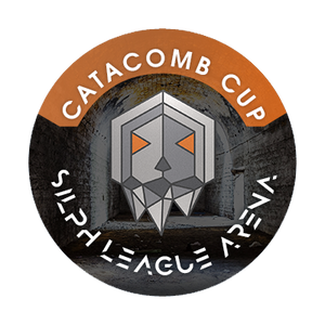 "Catacomb Cup 1"" Metal Button"