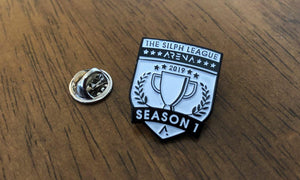 "Season 1 Official Arena 1"" Soft Enamel Pin"