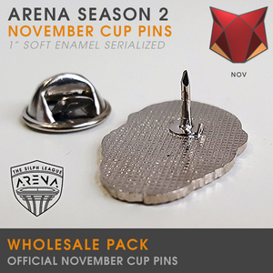 Wholesale Pack of Ferocious Cup Badge Pins