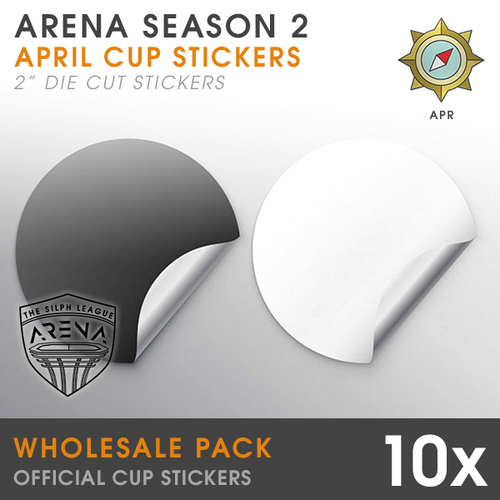 Wholesale 10-Pack of Voyager Cup Die-Cut Stickers