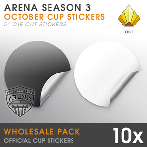 "Wholesale 10-Pack of Sunrise Cup 2"" Die-Cut Stickers"