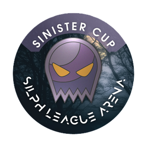 "Sinister Cup Badge 1"" Metal Button"