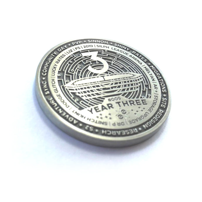 Year 3 Silph Road Challenge Coin