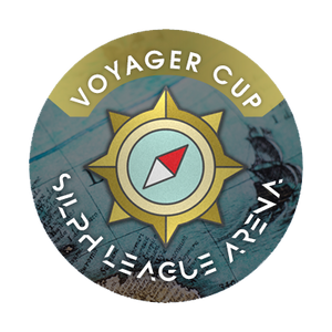 "Voyager Cup Badge 1"" Metal Button"