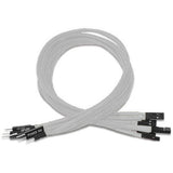 Front Panel 30cm Sleeved Extension Cable Set