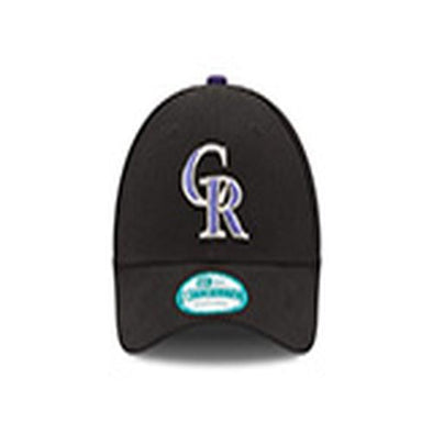 Colorado Rockies Black Cap - Adjustable