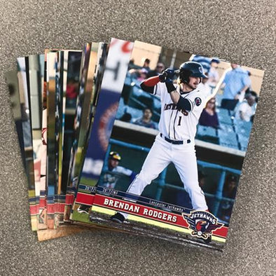 Lancaster JetHawks 2017 Team Card Set