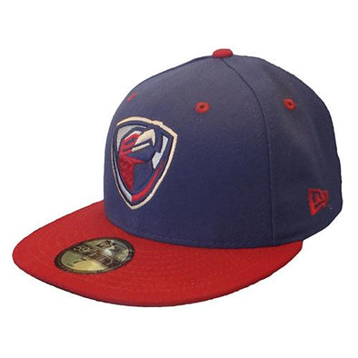 Lancaster JetHawks JetHawks New Era Road Cap (NAVY CROWN, RED BILL)