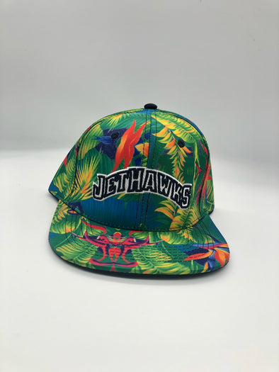 Adult Floral Print Snap Back