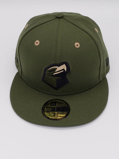 Lancaster JetHawks Military on field Cap (Fitted)