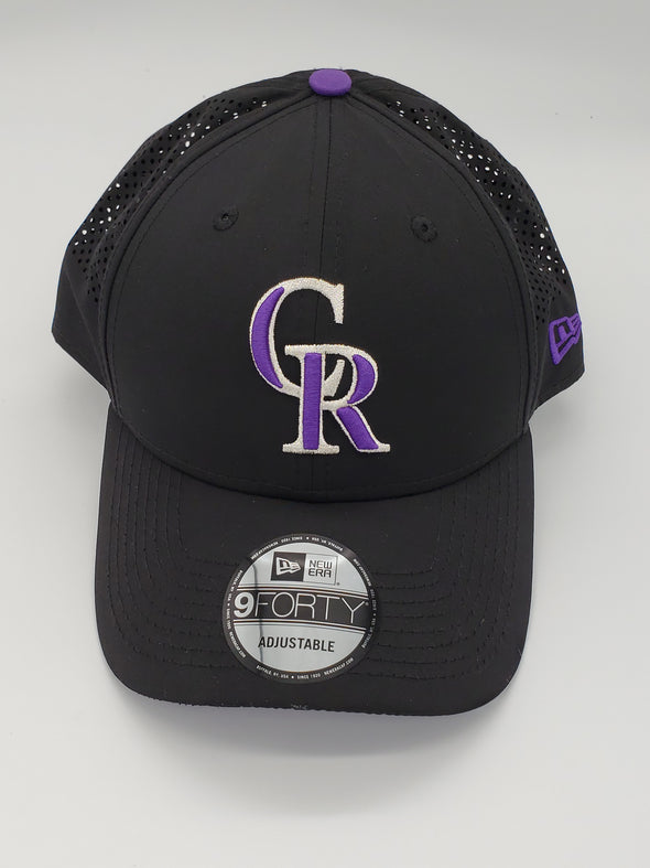 New Era League Rockies Black Cap