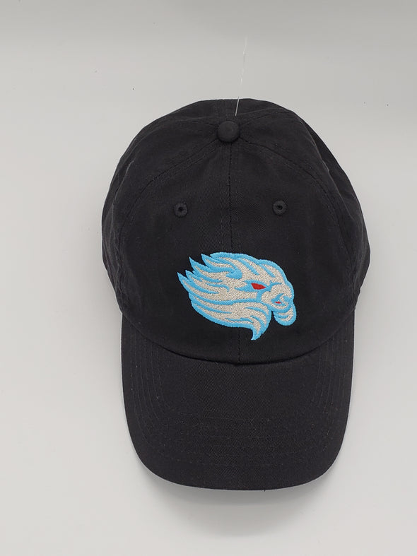 Lancaster JetHawks El Viento Adjustable Hat Black