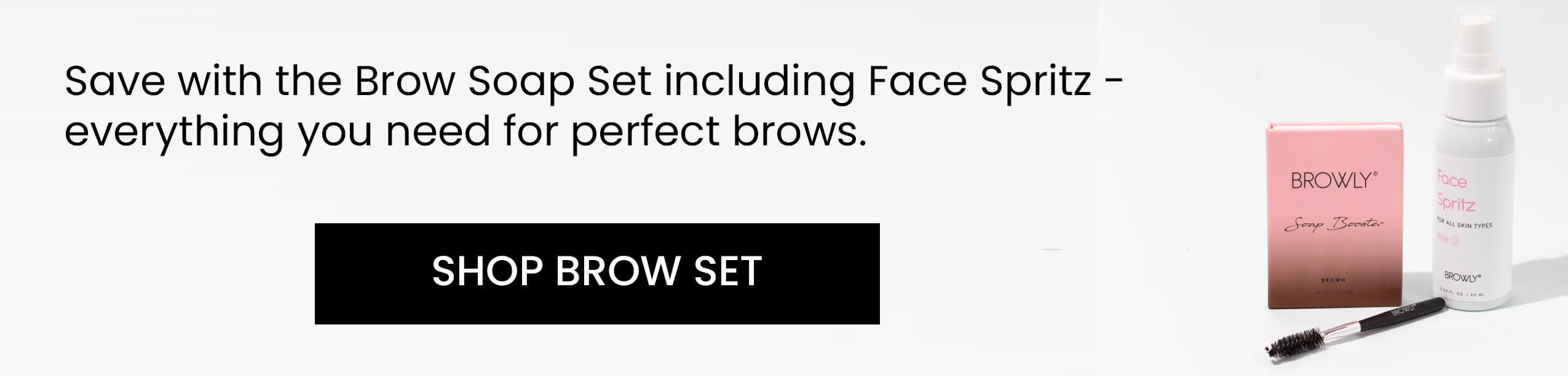 Upgrade to the Brow Soap Set in brown