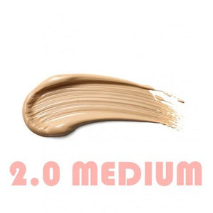 WORK IT Tinted Moisturiser: Medium shade colour swatch