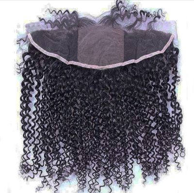 MINK 13X4 CURLY (SILK) Frontal