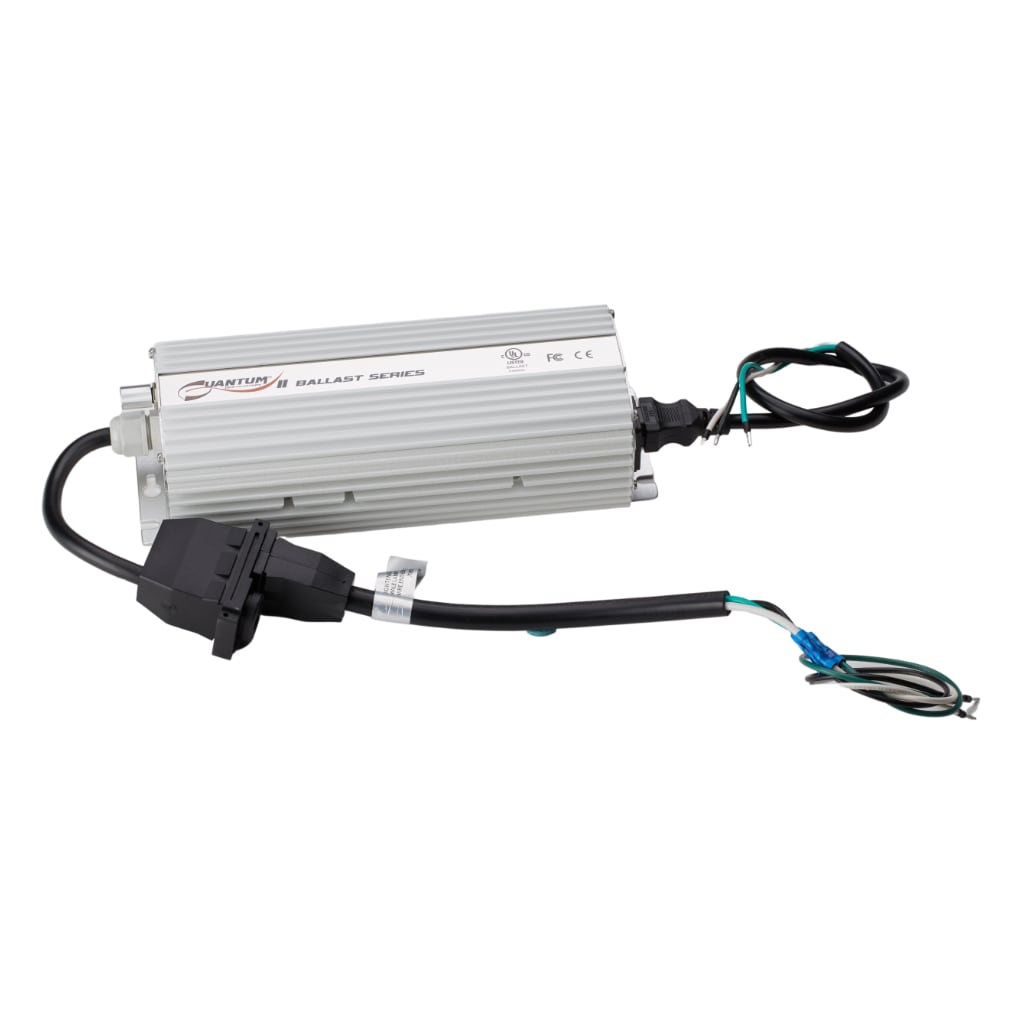 Quantum 400w Digital Ballast with cable connections shown. White background
