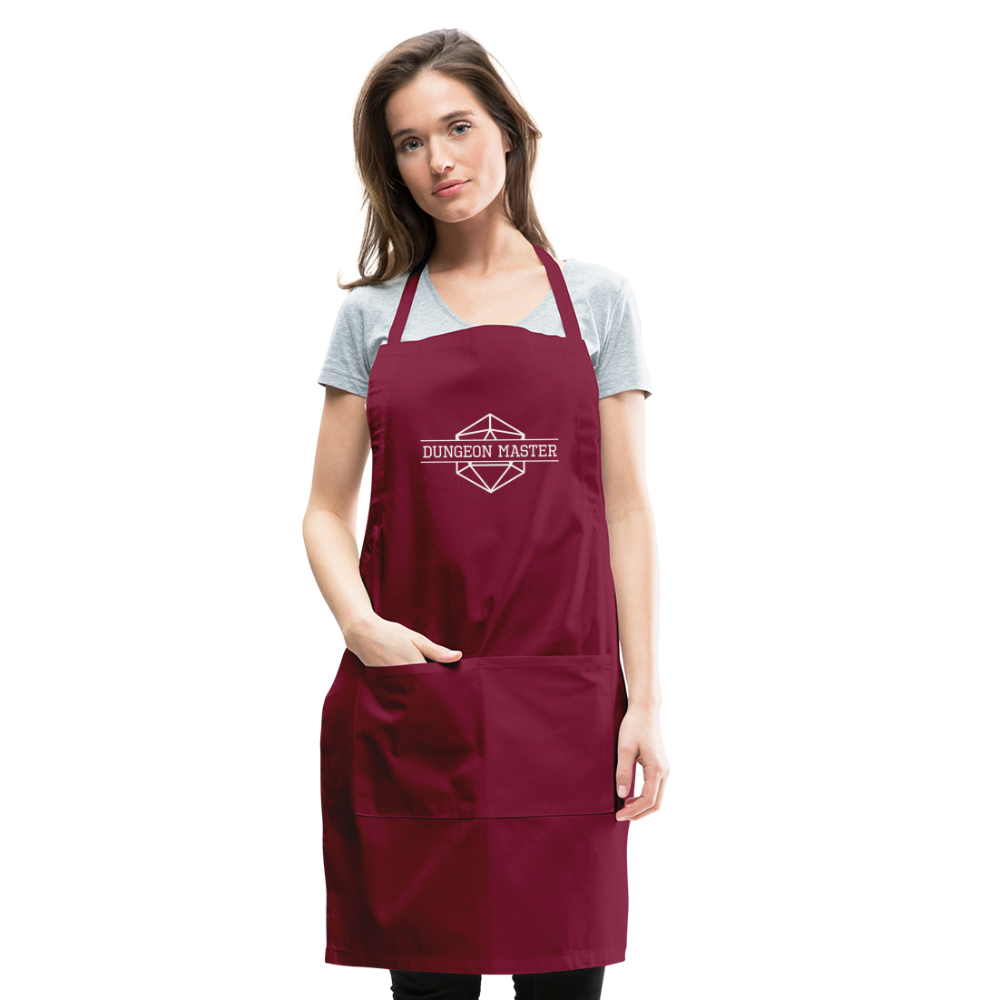DM Apron - burgundy