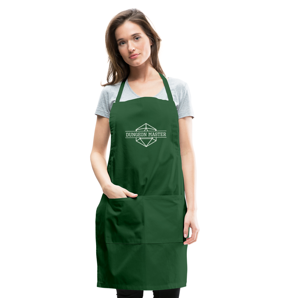 DM Apron - forest green