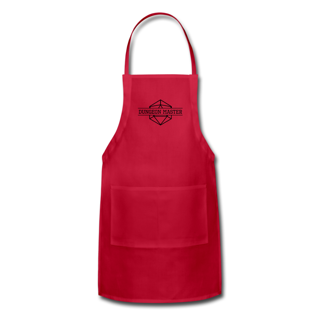 DM Apron - red