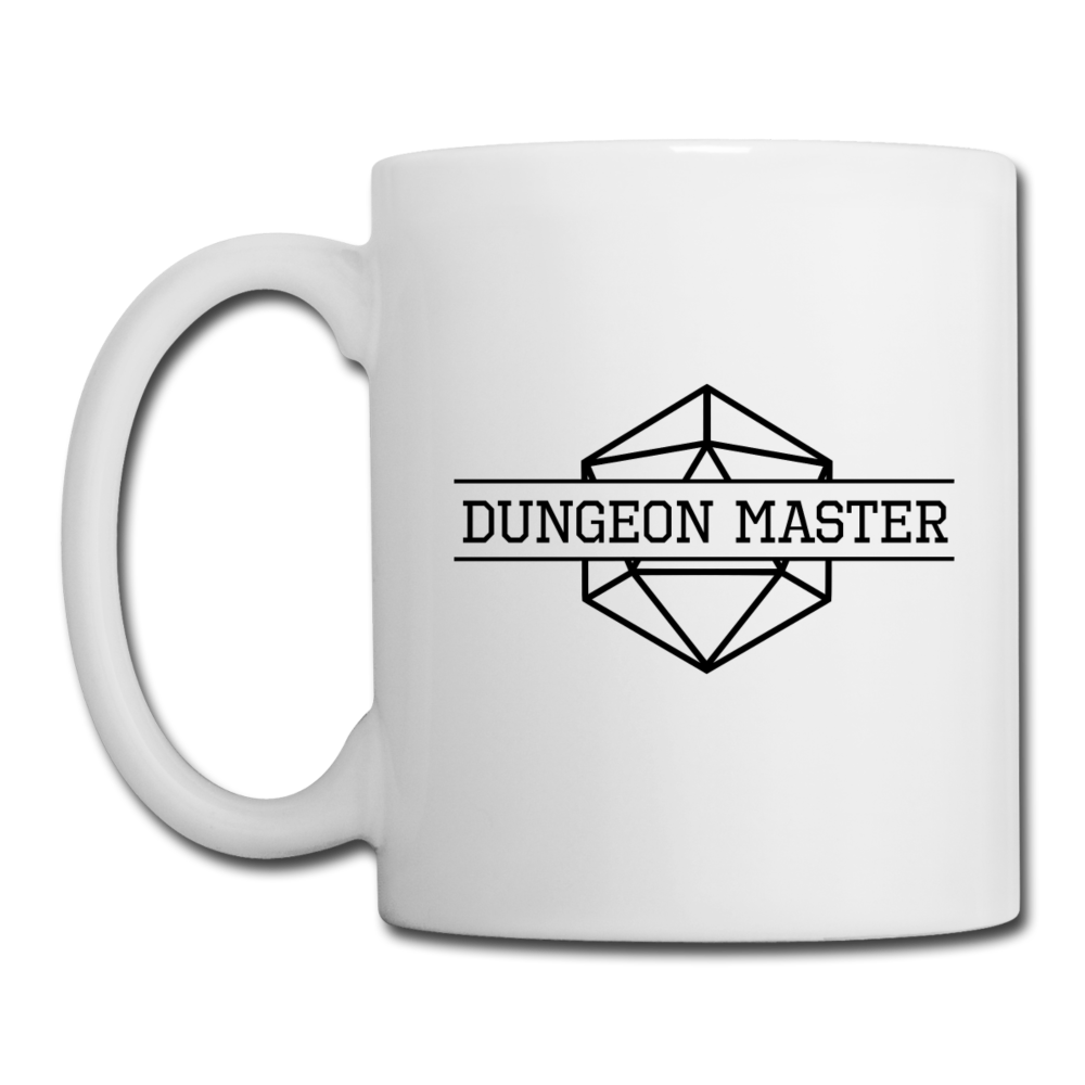 Dungeon Master Mug - white
