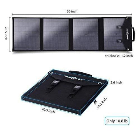 Image of Rockpals 100W Foldable Solar Panel - The Eco Store