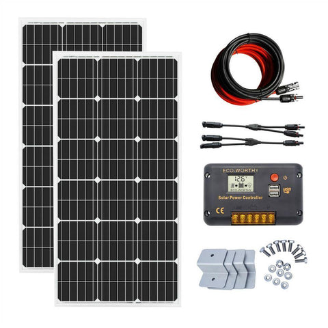 Image of EcoWorthy 200w solar panel system charge controller