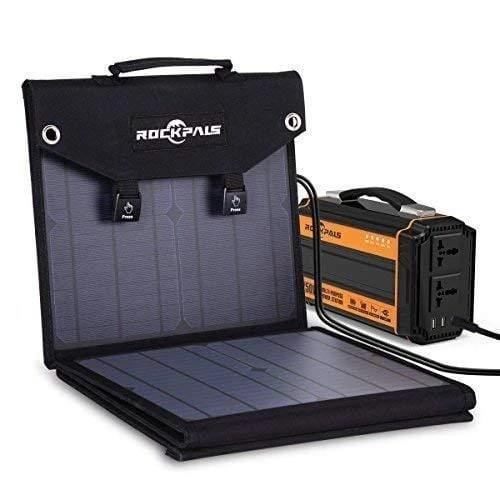 Rockpals 100W Foldable Solar Panel - The Eco Store