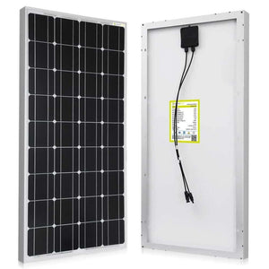 ACOPOWER 100 Watt 12 Volt Monocrystalline Solar Panel