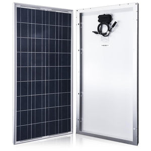 ACOPOWER 100 Watts Polycrystalline Solar Panel, 12V