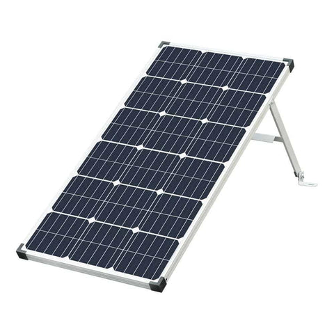 Image of Eco-Worthy 100 Watt Monocrystalline Solar Panel with Tilt Mount Bracket